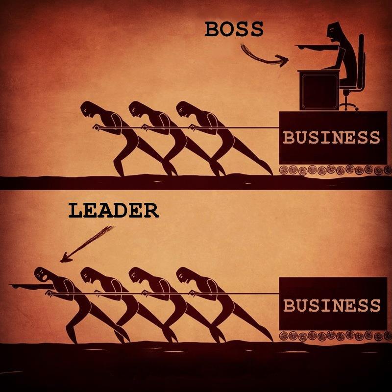 De Leider vs De Baas