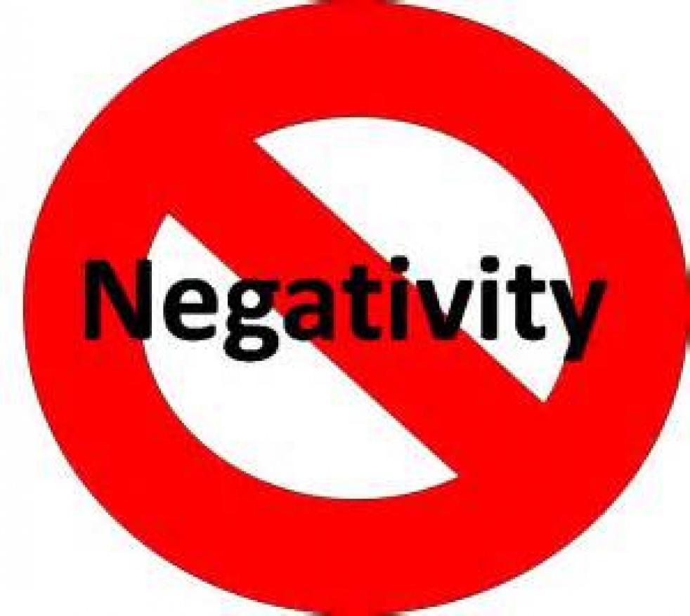Omgaan met negativiteit