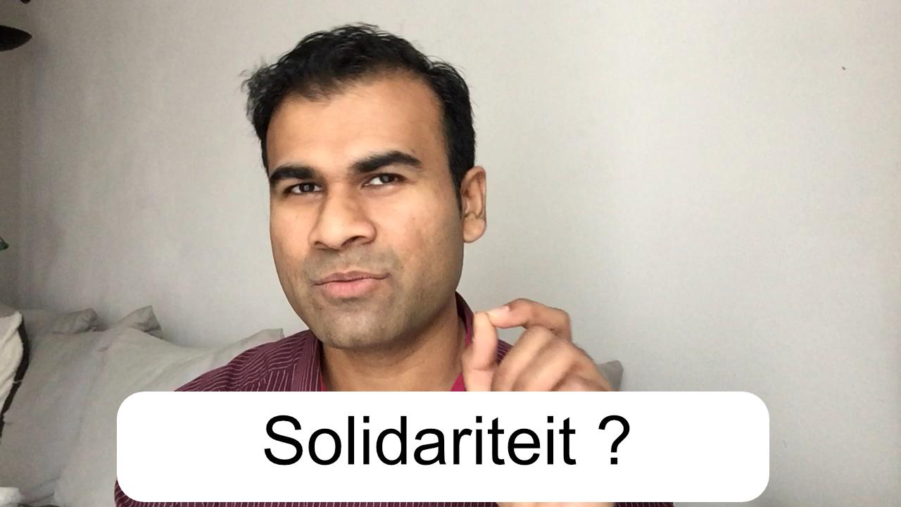 Solidariteit is niet altijd een goed gegeven