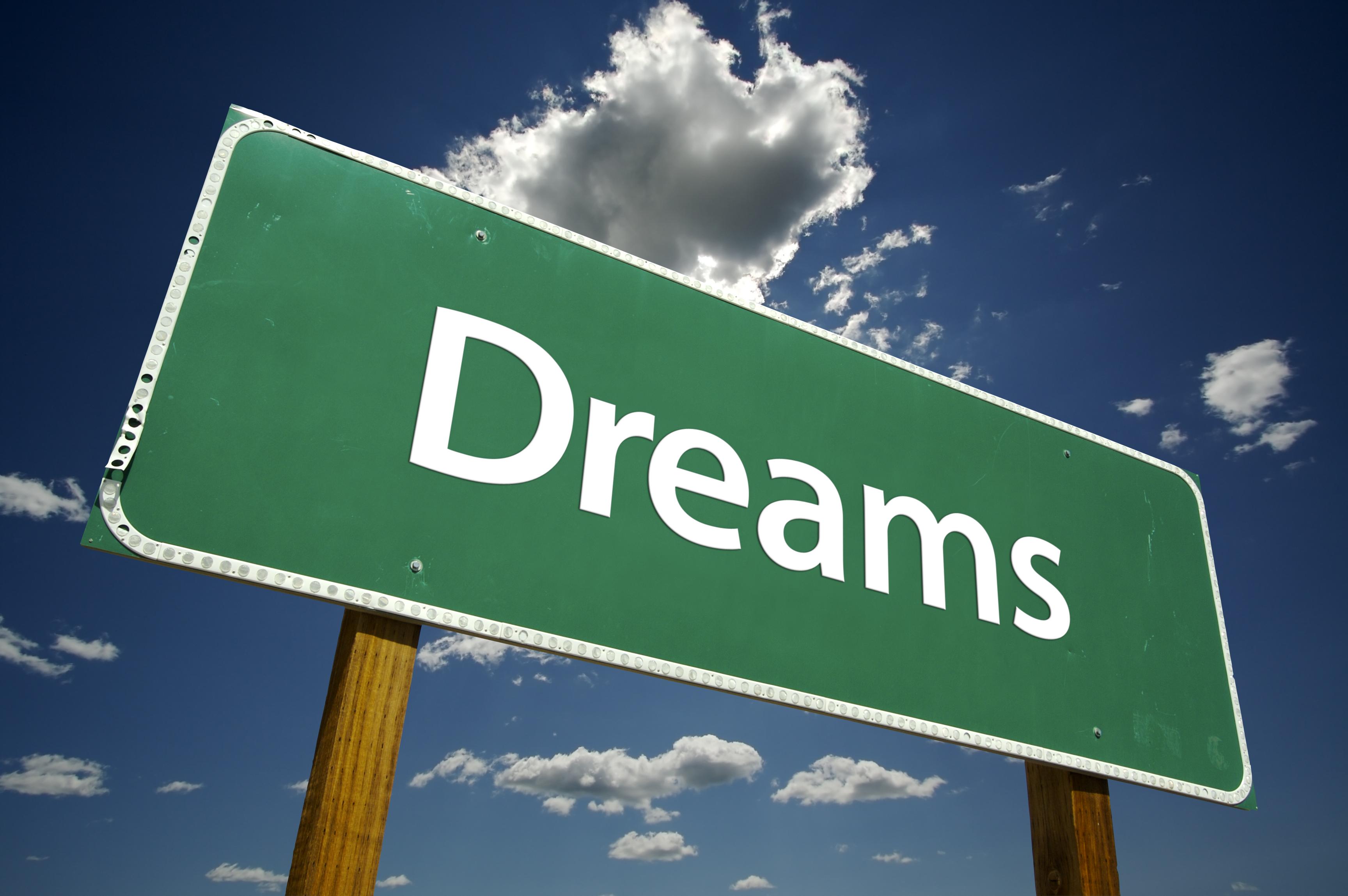 Ga voor jouw droom, een ander kan dat niet