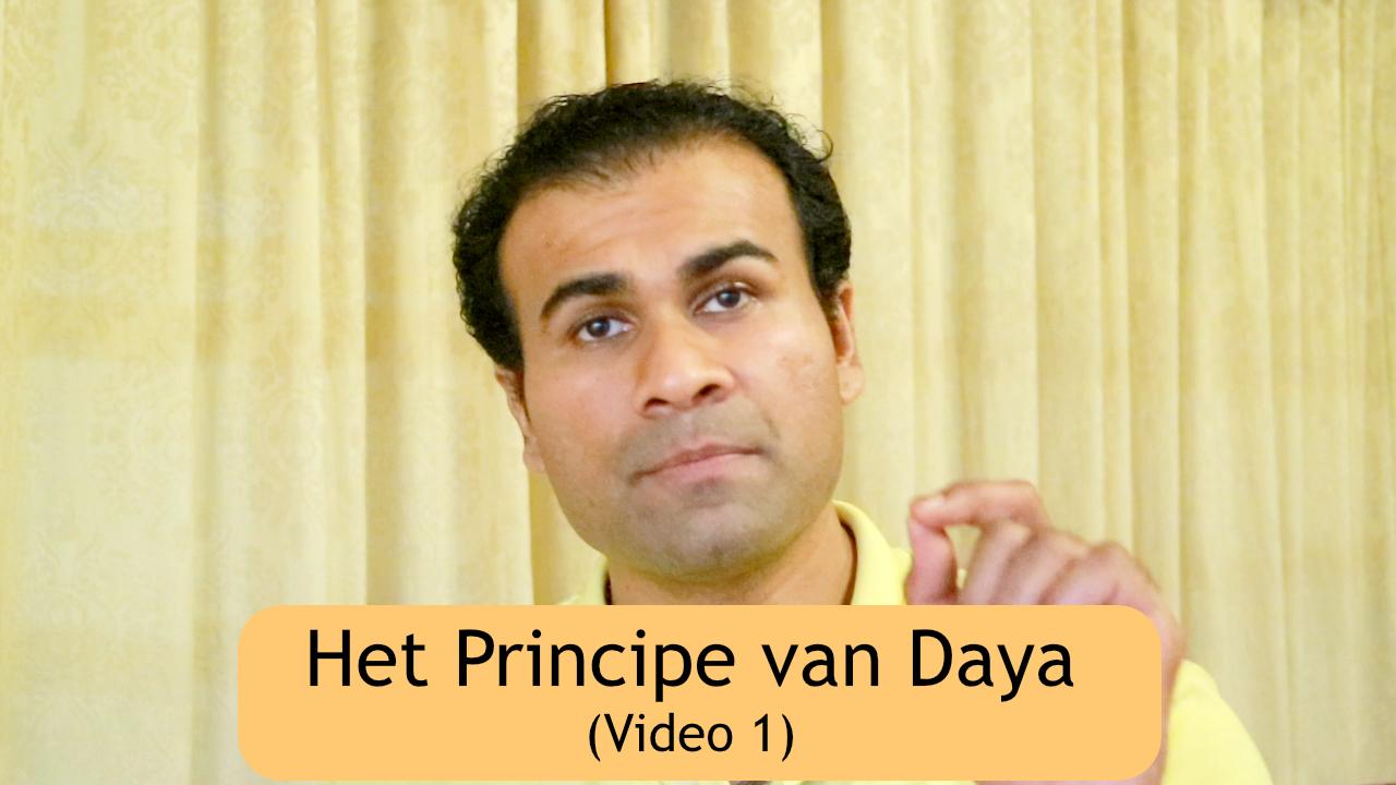 Daya (Compassie) als Levensprincipe